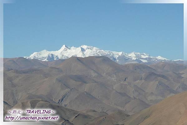 遮古拉山腰-看世界級雪峰_5-希夏邦馬峰