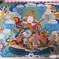 塔公寺-主殿的壁畫(1.jpg