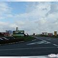 奧地利-邊境休息站-這條路過去一點,就是奧捷邊境,中國叫口岸啦.jpg