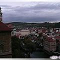 庫倫洛夫-城堡橋廊-哇,一眼望三塔.jpg
