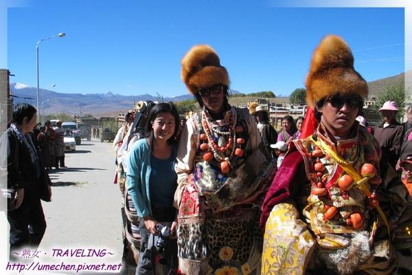 理塘-藏族婚禮-超酷的康巴漢子(8.jpg