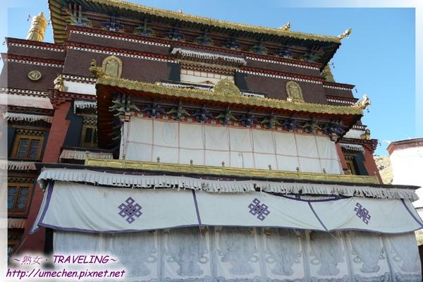 札什倫布寺-十世班禪靈塔祈殿-又名(釋頌南捷,蓋在六世靈塔遺址之上.jpg