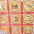 長青春科爾寺-天花板鮮豔的圖紋(3.jpg