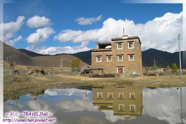 前進新都橋-藏寨的水中倒影(3).jpg