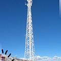 康定瀘定界線-積了雪的高塔.jpg