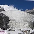 一號冰川-這就是一號冰川的大冰瀑布(還看到雪崩).jpg