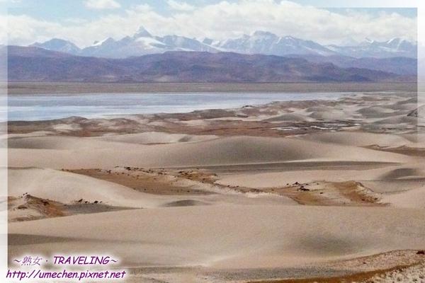 五彩沙漠-馬泉湖與沙丘並存-3.jpg
