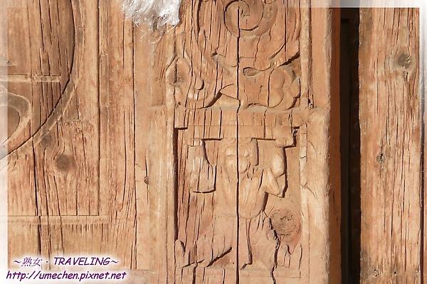 古格-紅殿-大門的浮雕多吸睛呀.jpg