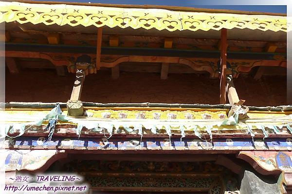 古格-護法殿-門簷變成2層,又是不同風貌.jpg