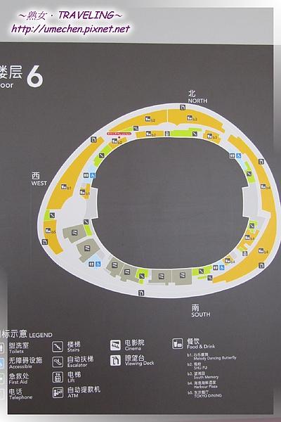 世博文化中心-6F是一圈環狀的影城和餐廳.jpg