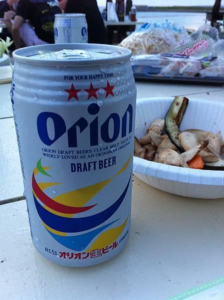 沖繩啤酒Orion!
