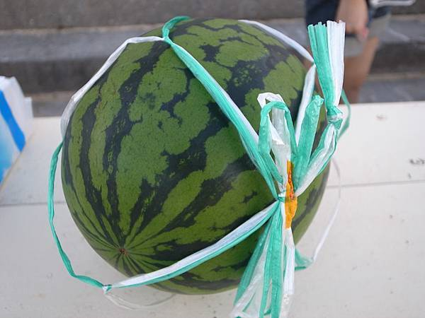 今年的第一顆西瓜