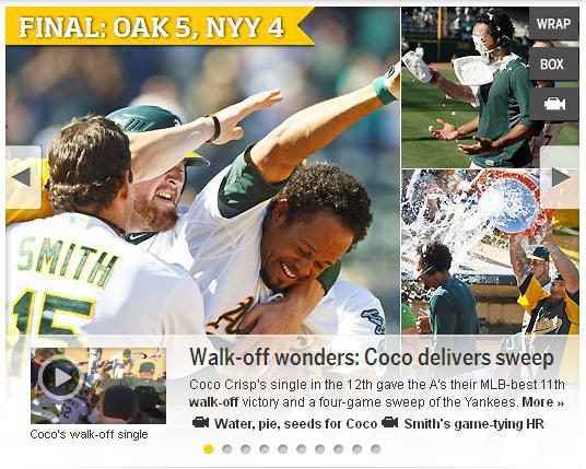Sweep NYY MLB.com