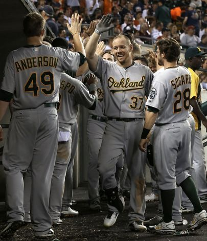 Brandon Moss Photo Paul Sancya, Associated Press
