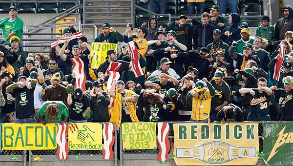 Section 149  in Oakland by USA TODAY Sports