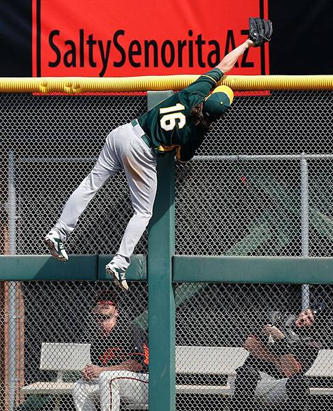 What a catch By Josh Reddick Photo By Michael Macor