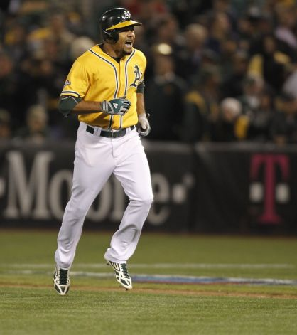 Coco Crisp Photo by Michael Macor The Chronicle