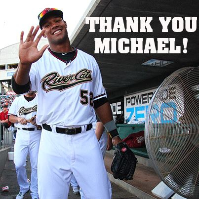 Thank You! Michael Taylor by River Cats