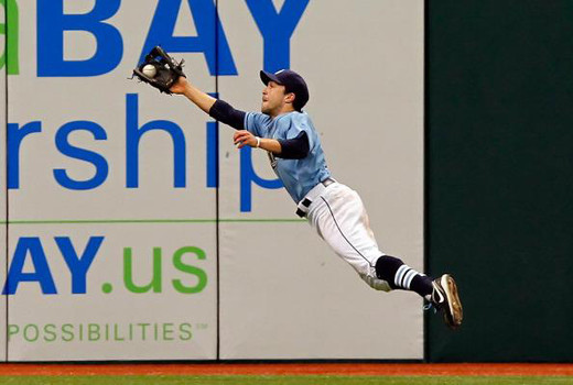 Sam Fuld with Rays 20110619 PHOTO BY J.Meric_Getty Images