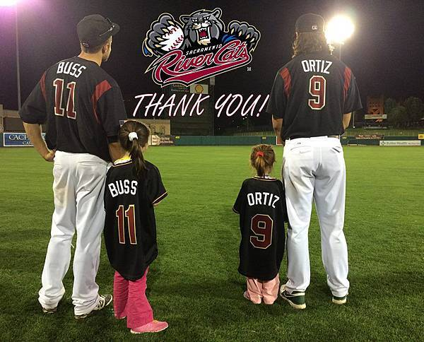 Sacramento River Cats Thank you 2014
