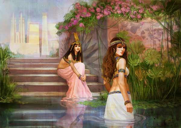埃及女神夏色