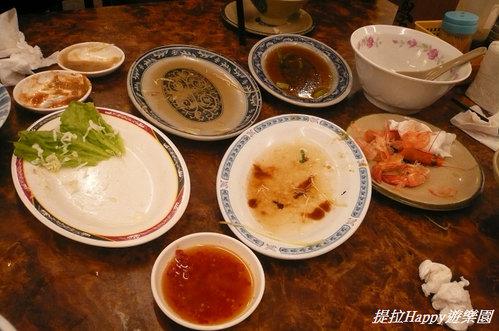 20130201台中翁記剝骨鵝肉專賣店 隨便點隨意吃的小尾牙  (2)