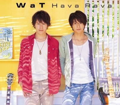 WaT 單曲【Hava Rava】普通盤封面