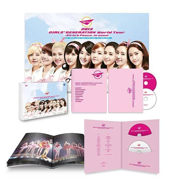 少女時代 三巡DVD 全內容物照片