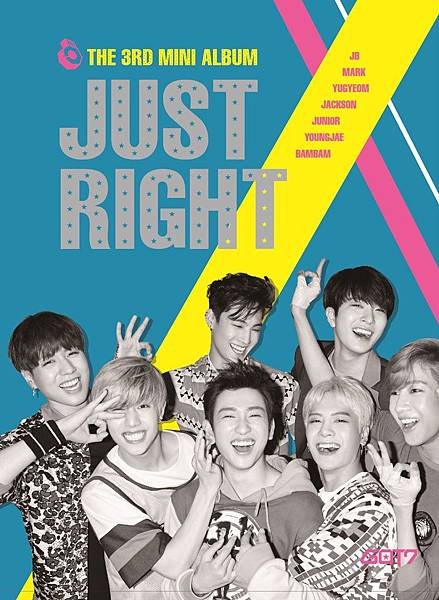 GOT7 just right cover