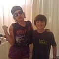Gaga and 葛瑞森
