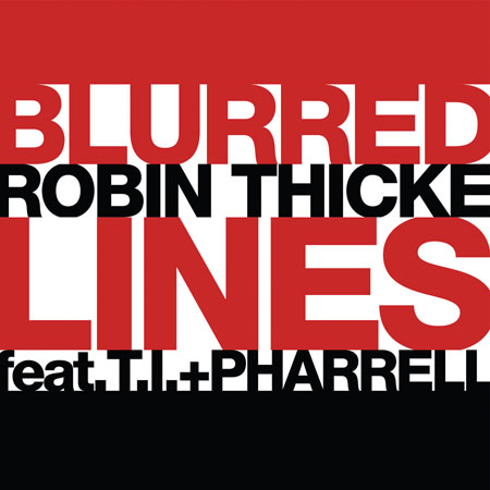 ROBIN 002 Blurred Lines SINGLE COVER