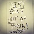 瑪丹娜反對出兵敘利亞
