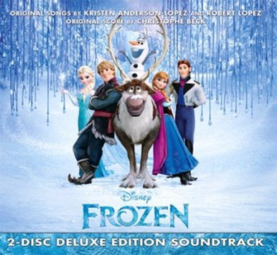冰雪奇緣2CD