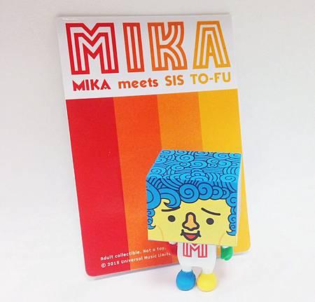 米卡豆腐人公仔(3x3x5)