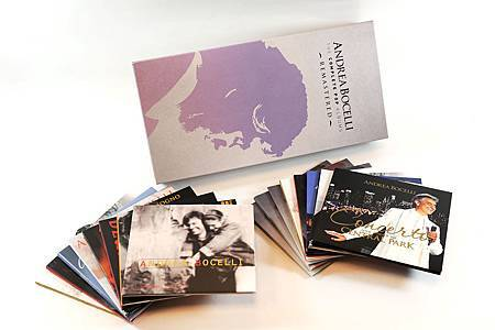 安德烈‧波伽利:流行專輯 經典豪華盒裝組