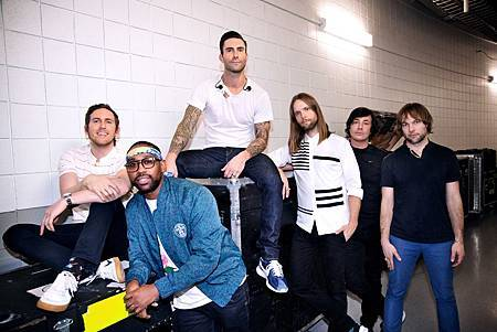 Maroon 5 魔力紅宣傳照2