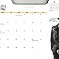 Calendar(2013.05)銀赫