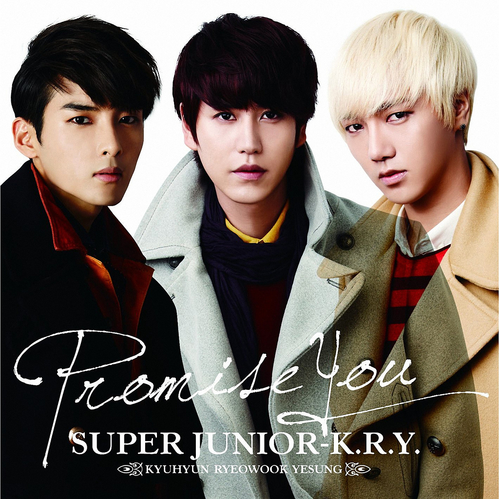 Promise You專輯封面(韓國F3?!)