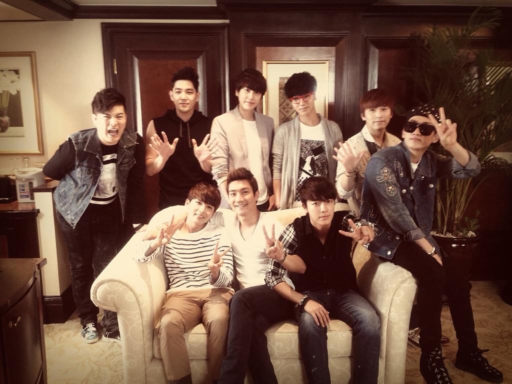 SJ's Super Hangout中,兄弟間的好感情,可是真真切切滴感受到了呢!