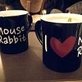藝聲。Mouse Rabbit Coffee新款杯(黑)