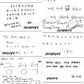 SJ。從小子們的筆跡裡看個性,似乎挺有趣的呢!