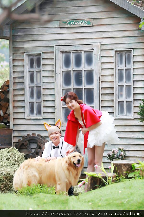 01酒窩夫婦❤小紅帽&大野狼~Fall In Love-05