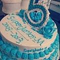 SJM。五周年慶祝蛋糕,呀咪^^