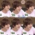 ㄎㄎㄎ~髮型可愛、側臉可愛、表情可愛、笑容可愛、五官可愛...總之什麼都可愛啦!