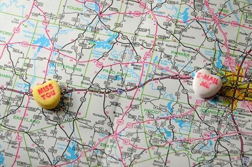 遠距離戀愛