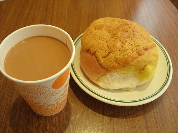 鴛鴦與菠蘿油~勞工階級下午茶的必備品!