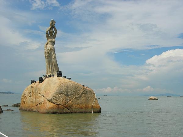 珠海地標~漁女