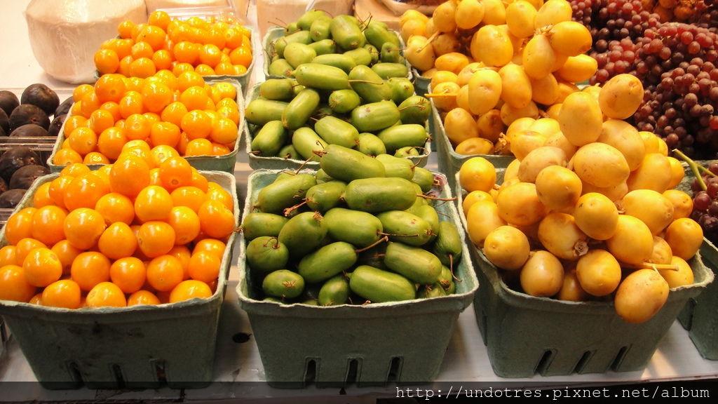 不知名的水果