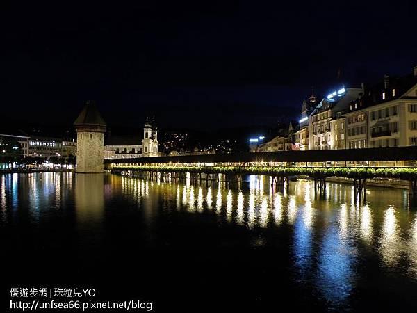 image001_YoYoTempo_【瑞士旅遊景點】波光瀲灩的琉森(Lucerne)在夜幕中的美景.jpg