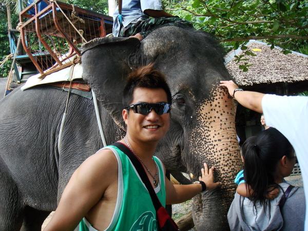 大象其實也是很可愛的啦^^